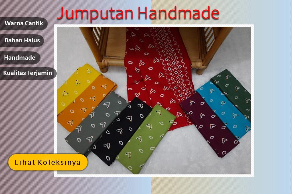Kain Batik Motif Jumputan Berbagai Pilihan Warna Cantik