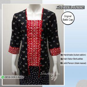 Baju Batik Wanita Model Kebaya Jumputan